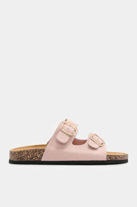 Ardene Faux Suede Buckle Sandals