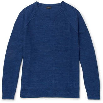J.Crew Mélange Cotton-Jersey Sweater