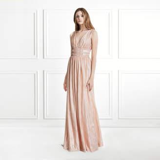 Rachel Zoe Madison Metallic Jersey Gown