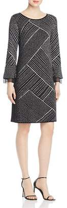 Nic+Zoe Flashing Lights Printed Shift Dress