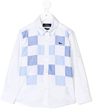 Harmont & Blaine Junior checked shirt
