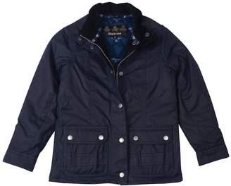 Barbour Girls Trow Wax Jacket