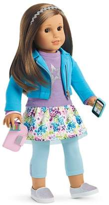 Hair Light American Girl Truly Me Doll Brown Eyes, Layered Brown Hair, Light Skin Tone 18''