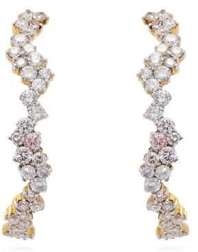 Ana Khouri Sadie 18kt Gold & Diamond Earrings - Womens - Diamond