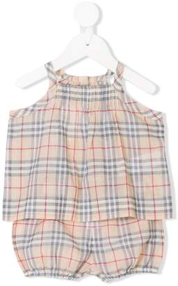 Burberry Classic Check two-piece set