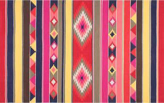 One Kings Lane Ladonna Flat-Weave Kilim - Pink/Red