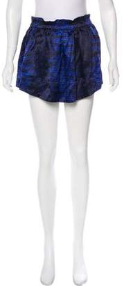 Etoile Isabel Marant Printed Silk Skirt