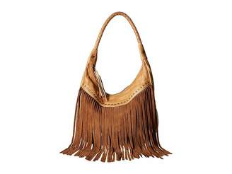 Scully Oh So Soft Leather Fringe Bag