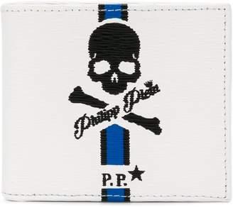 Philipp Plein skull fold out wallet