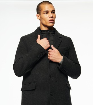 Andrew Marc CUNNINGHAM WOOL CAR COAT
