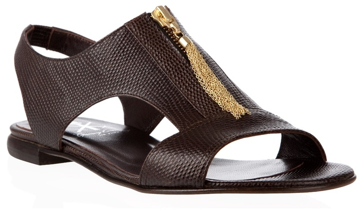OPENING CEREMONY - Snakeskin leather sandals