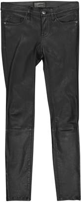 Current/Elliott Current Elliott Black Leather Trousers