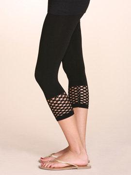 Cropped Cutout Legging