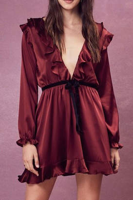 For Love & Lemons Bette Mini Dress
