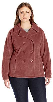 Columbia Women's Plus-Size Benton Springs Pea Coat Plus