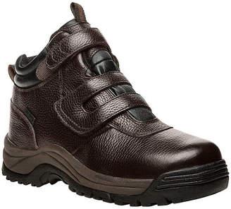 Propet Mens Cliffwalker Hiking Boots Waterproof Flat Heel Hook and Loop