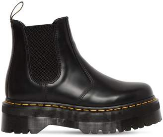 Dr. Martens 40mm Quad Leather Beatle Boots