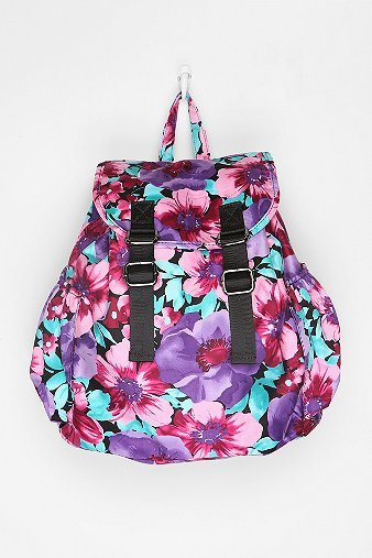 Urban Outfitters Deena & Ozzy Floral Tech Backpack