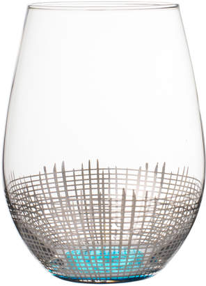 Fitz & Floyd Annalise Stemless Wine Glasses (Set of 4)