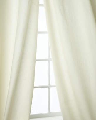 "Home Silks Skye Curtain Panels, 108""L"