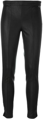 Twin-Set side stripe skinny trousers $132.94 thestylecure.com