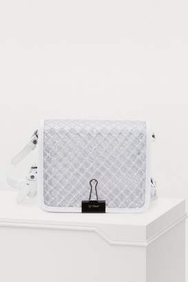 Off-White Off White Binder clip crossbody bag