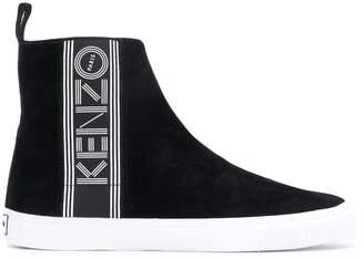 Kenzo logo printed sneakers