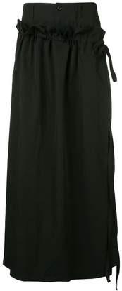 Yohji Yamamoto wrap skirt
