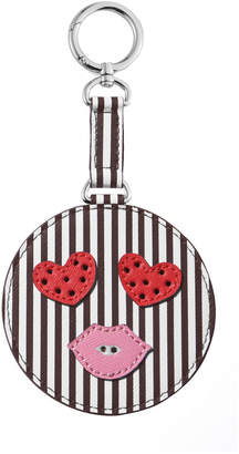 Henri Bendel Hearts Smiley Bag Charm