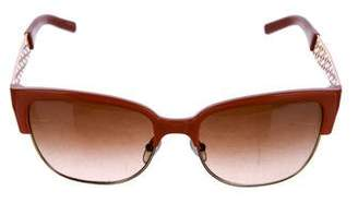 Tory Burch Gradient Logo Sunglasses