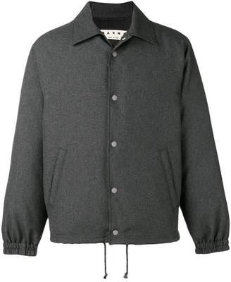 Marni padded bomber jacket