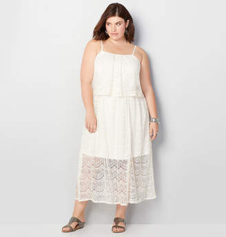Avenue Lace Maxi Dress