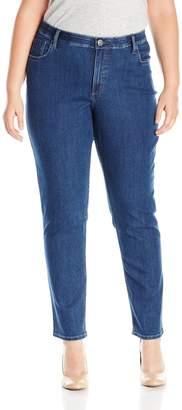 Lee Indigo Women's Plus-Size Slender Stretch Skinny Jean