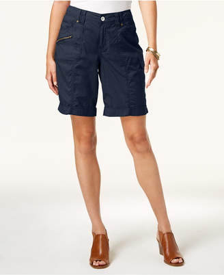 Style&Co. Style & Co Cuffed Cargo Shorts, Created for Macy's