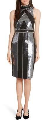 L'Agence Rashmi Sequin Sheath Dress