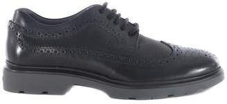 Hogan Perforated Derby Shoes