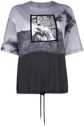 Opening Ceremony contrast print short-sleeve T-shirt