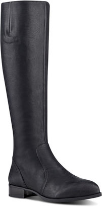 Nicolah Wide Calf Riding Boots $179 thestylecure.com
