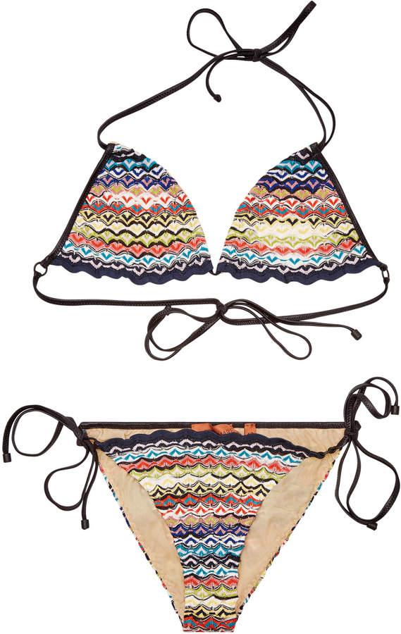 Mare Knit Triangle Bikini