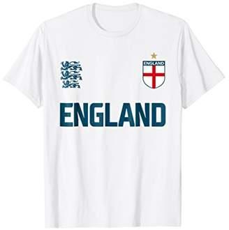 England 2018 Cheer Jersey - Three Heraldic Lions T-Shirt