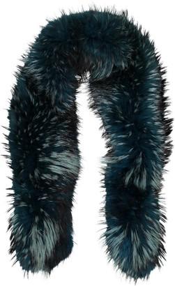 Non Signé / Unsigned Non Signe / Unsigned Blue Fox Scarves