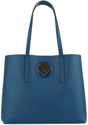 Fendi Leather Shopper Bag