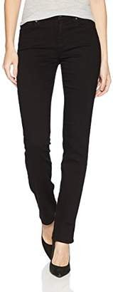7 For All Mankind Women's Kimmie Straight Leg Jean with Squiggle