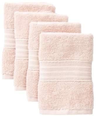 Nordstrom Rack 500 Gram Cotton Terry Wash Cloth - Set of 4
