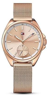 Tommy Hilfiger Women's Sport' Quartz Gold Casual Watch(Model: 1781756)