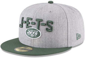 New Era Boys' New York Jets Draft 59FIFTY Fitted Cap