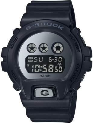 Casio Metallic Mirror Face Digital Watch
