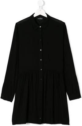 Little Remix TEEN pleated shirt dress
