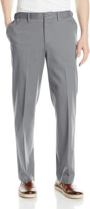 Savane Men's Flat Front Ultimate Performance Chino Pant