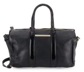 Stuart Weitzman Uptown Textured Leather Satchel